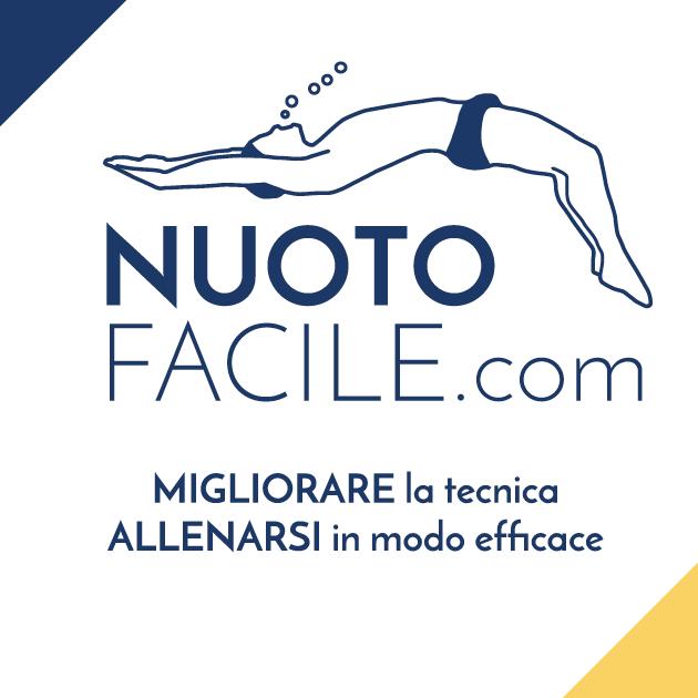 Copertina Nuoto Facile con sottotitolo migliorare la tecnica e allenarsi in modo efficace