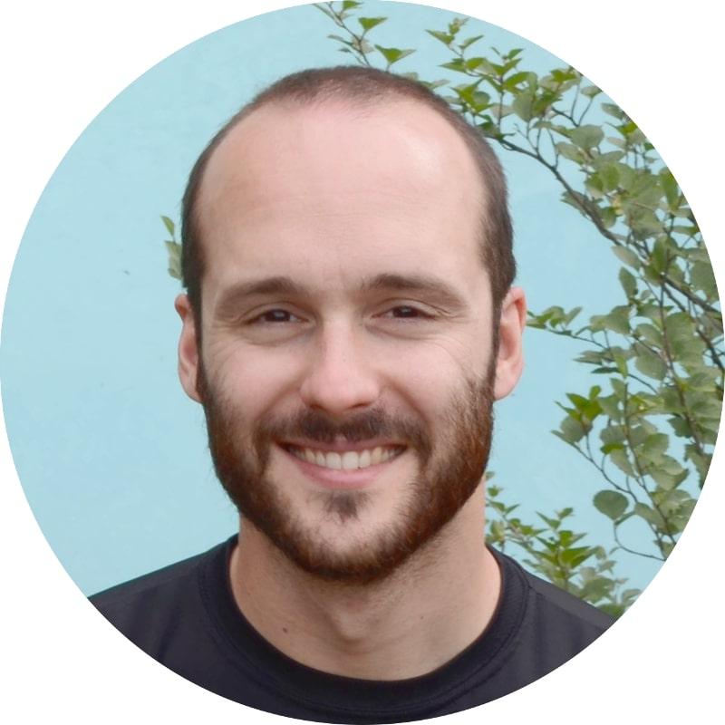 Ritratto di Paolo Gasparotto ideatore e fondatore di Nuoto Facile